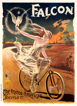 Falcon Vintage French Bicycle Poster by PAL