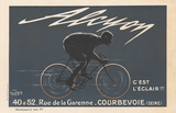 Alcyon Vintage French Bicycle Poster