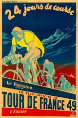 1949 Tour de France Poster