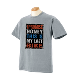 I Promise Honey Garment Dyed Bicycle T-shirt