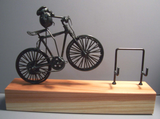 Mountain Bike Original Flea Business Card Holder