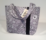 Little Man Workforce Tote Bag - Gray/Black