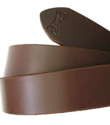 Brown Italian Leather Belt Strap