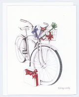 Holiday Bike Christmas Card