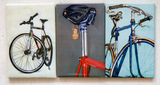 Fun refrigerator magnets to hold up all your cycling photos!
