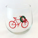 Holiday Beverage Wine Glasses Set of 2 or 4