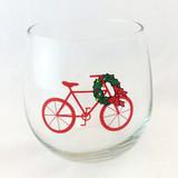 Holiday Beverage Wine Glasses Set of 2 or 4