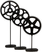 Chainring Pedestal Sculpture Set
