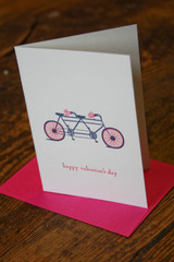 Valentine's Day Card with Coordinating Envelope