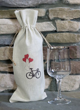 Romantic Bicycle Wine Carrier