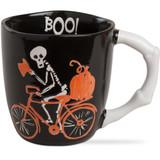 Skeleton Bicycle Mug