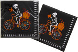 Halloween Bicycle Party Napkins
