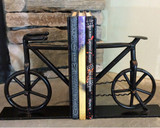 Industrial Bicycle Bookends