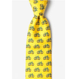 Bold Road Bike Silk Tie