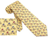 Road Race Tie Yellow