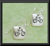 Petite Bike Earrings