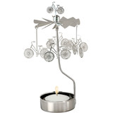 Rotary Bicycle Candle Holder