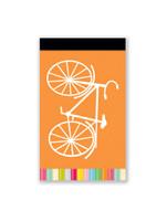 Orange Bike Matchbook Jotter