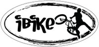 IBike Oval Magnet and Decal