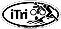 ITri Oval Magnet and Decal