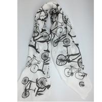 White with Black Bikes