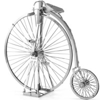Penny Farthing Bicycle 3D Model Kit