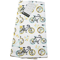 Sweet Ride Cotton Bicycle Dishtowel