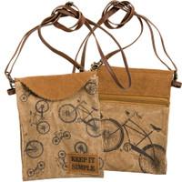 Keep it Simple Bicycle Crossbody Bag
