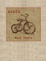 Holiday Santa was Here Boxed Cards