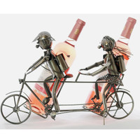 Tandem Bicycle Wine Caddy