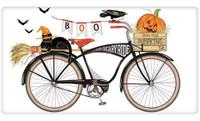 Boo Bike Halloween Flour Sack Towel