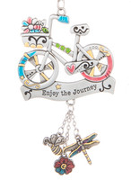 Enjoy the Journey Bicycle Car Charm