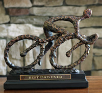 The Cyclist Sculpture