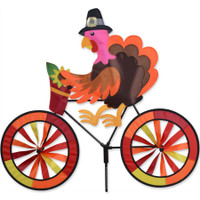 "Turkey Bicycle Spinner 30"" x 27"""
