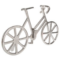 Silver Tabletop Bicycle
