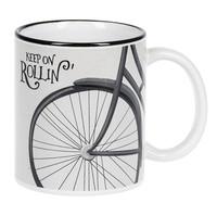 Inspirational Bicycle Mugs  3 designs