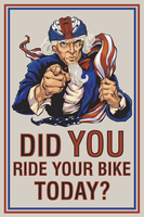 Ride Your Bike Poster