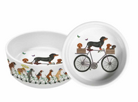Pedaling Pups Pet Bowl