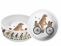 Pedaling Pups Pet Bowl