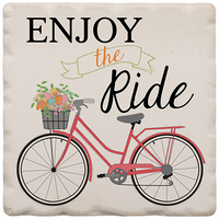 "Enjoy the Ride Magnet 2.25"" x 2.25"""