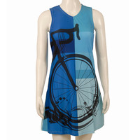 Blue Bicycle Dress