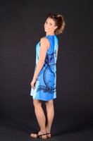 Blue Bicycle Sport Dress