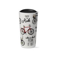 Tall Bike Statement Travel Mug