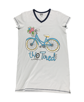 Two Tired Ladies Bike Nightshirt