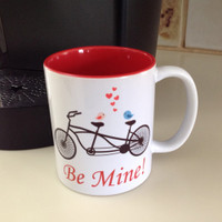 Be Mine Bicycle Mug