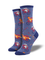 Fall Friends Bicycle Sock