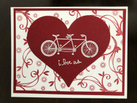 I Love Us Tandem Valentine