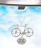 New Adventure Bicycle Car Charm