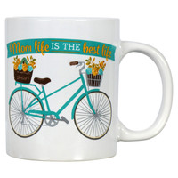 Mom Life Bicycle Mug