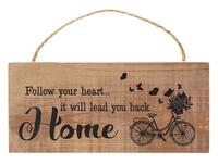 Lightweight Mini Hanging Bike Sign 6 designs